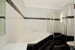 Stylish modern bathoom Royalty Free Stock Images