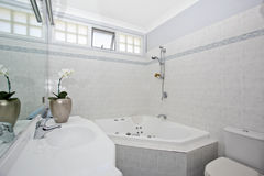 Stylish modern bathroom Stock Photo