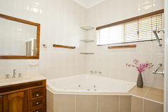 Stylish modern bathroom Royalty Free Stock Images