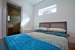 Stylish modern bedroom Stock Photography