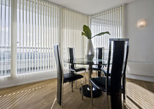 Stylish modern dining room Stock Image
