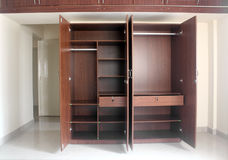 Free Stylish & Modern Empty Cupboard In A Room Of A Newly Built House Stock Image - 28242181