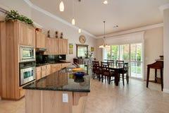Stylish & modern kitchen Stock Photos