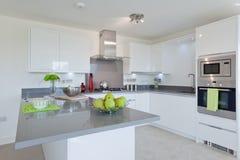 Stylish modern kitchen stock image