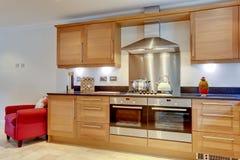 Stylish modern kitchen royalty free stock images