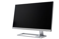 Stylish, modern LCD computer display, rear view Stock Image