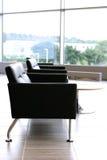 Stylish, modern leather seats Stock Images