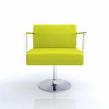 Stylish modern lounge chair Royalty Free Stock Photo