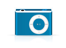 Stylish and modern mp3 player Stock Images