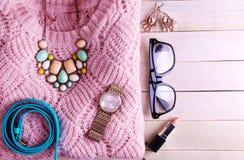 Stylish modern outfit Stock Photo