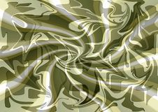 Stylish modern silk fabric abstract design in  neutral tones. Royalty Free Stock Image