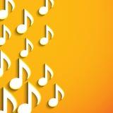 Stylish musical notes. Stock Image