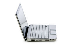 Stylish netbook isolated Stock Photography