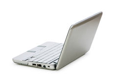 Stylish netbook isolated on the white Royalty Free Stock Image