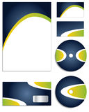 Stylish new corporate vector set Royalty Free Stock Photography