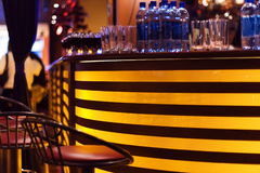 A stylish night bar Royalty Free Stock Images
