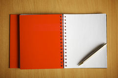 The stylish notebook Stock Photo