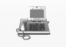 Stylish office phone with copyspace Royalty Free Stock Photography