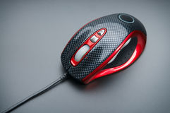 Stylish optical mouse Stock Image