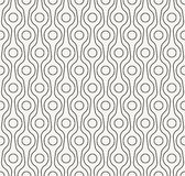 Stylish outlined monochrome decorative fabric texture Stock Image