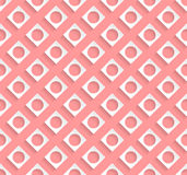 Stylish pattern design with light red background Stock Images