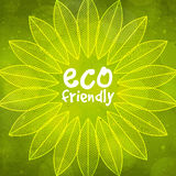 Stylish pattern for Eco Friendly. Royalty Free Stock Photos