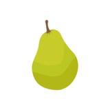 Stylish Pear Isolated On White Background Royalty Free Stock Image
