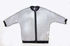 Stylish perforated shirt Royalty Free Stock Images