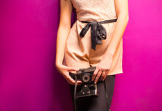 Stylish photographing Royalty Free Stock Photography