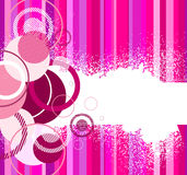Stylish pink banner. Vector illustration Royalty Free Stock Photography