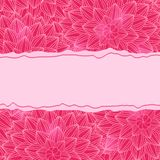 Stylish Pink Card Royalty Free Stock Photography