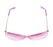 Stylish pink female glasses isolated royalty free stock photos