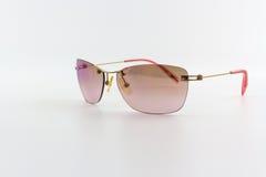 Stylish pink sunglasses. Royalty Free Stock Photography