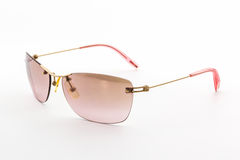 Stylish pink sunglasses. Royalty Free Stock Photos