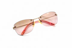 Stylish pink sunglasses. Stock Image