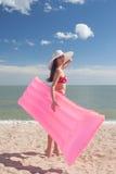 Stylish pinup girl posing Royalty Free Stock Photography