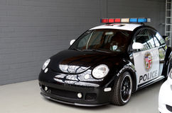 Stylish police car Royalty Free Stock Image