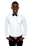 Stylish portrait of handsome young african Stock Photo