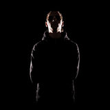Stylish portrait of man over dark background Stock Photo