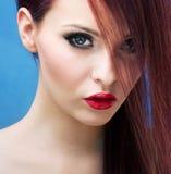 Stylish portrait of a stunning woman Royalty Free Stock Photo