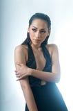 Stylish Posing Asian woman Royalty Free Stock Photo