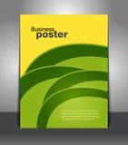 Stylish presentation of business poster Royalty Free Stock Photo