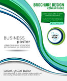 Stylish presentation of business poster Stock Image