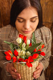 Stylish pretty girl Stock Photography