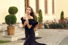 Stylish pretty girl Royalty Free Stock Photos