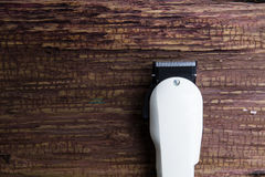 Stylish Professional Barber Clippers, Hair Clippers, Haircut acc Stock Image