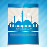 Stylish ramadan template Stock Photos