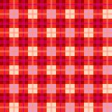 Stylish red abstract mesh extended Stock Photo