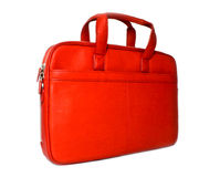 Stylish red bag Stock Image