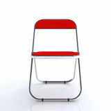 Stylish red chair Stock Photography